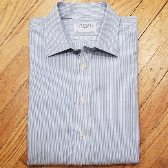 7c098600 Charles Tyrwhitt Shirts   Non Iron Slim Fit Dress Shirt   Poshmark